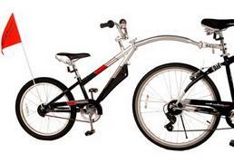 детский велосипед тандем