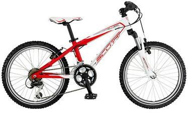 детский велосипед Scott колеса 20 дюймов
